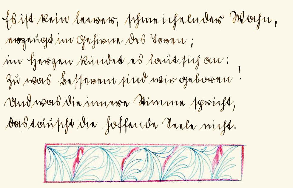 Alte schöne gedichte